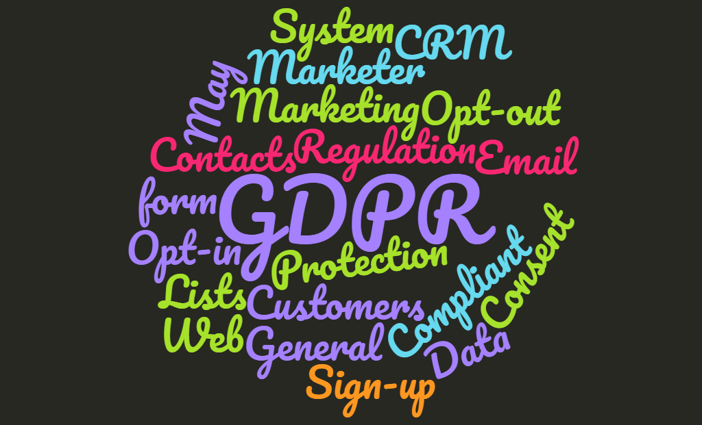 GDPR - marketers perspective